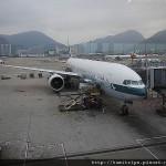 國泰航空77A HKG-TPE CX474 回到可愛的台北